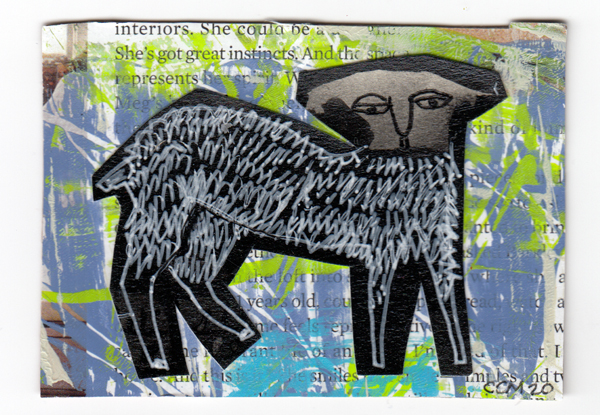 ATC sheep-like animal 4-2001
